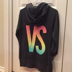 Victoria's Secret Zip-up Hoody Sweatshirt Wings